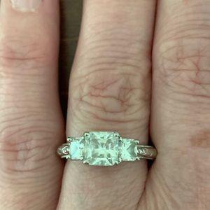 Tacori Diamonique Epiphany Princess Cut Ring
